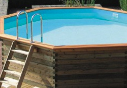Above Ground Pools in Wooden Panels