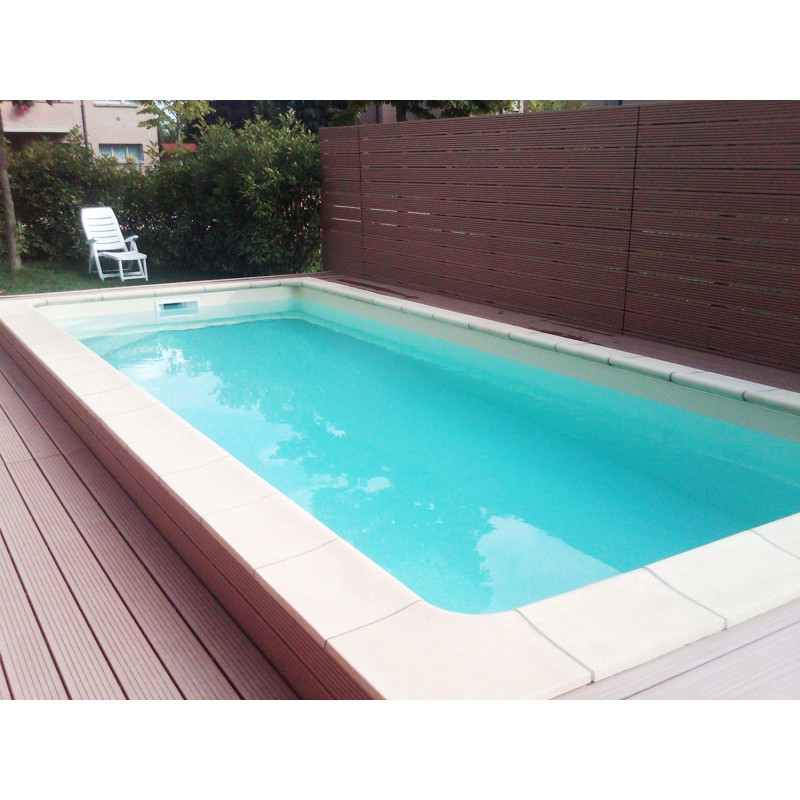 Kit piscina interrata in casseri di polistirolo freestyle for Casseri in polistirolo per piscine
