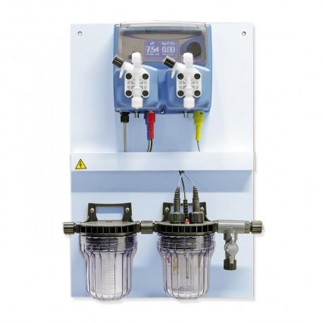 Chlorine and pH panel