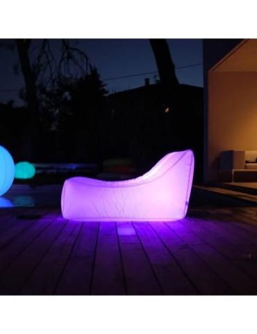 Luminous floating armchair