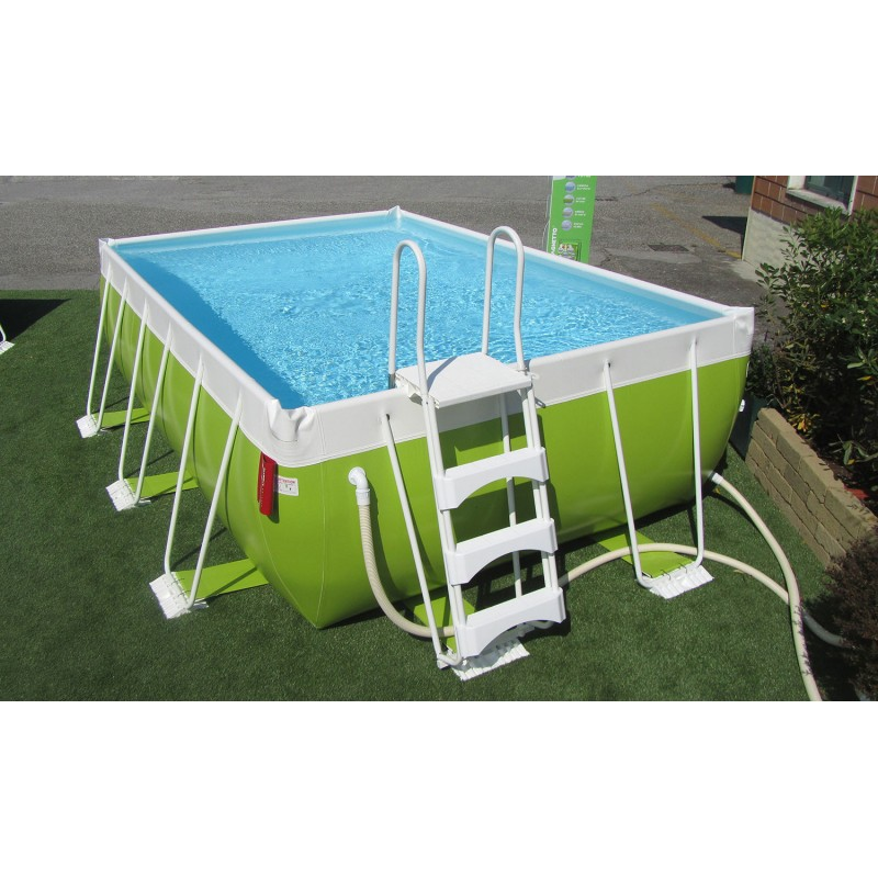 Piscina fuori terra laghetto pop 47 h 120 vannini aqua pool for Aqua pool piscinas