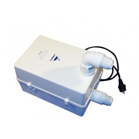 Impianto filtrazione boa per piscine laghetto vannini for Pompa laghetto esterna