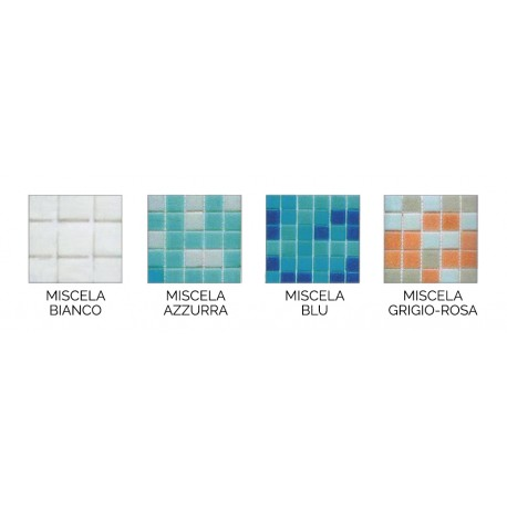 Vitreous Mosaic for pools