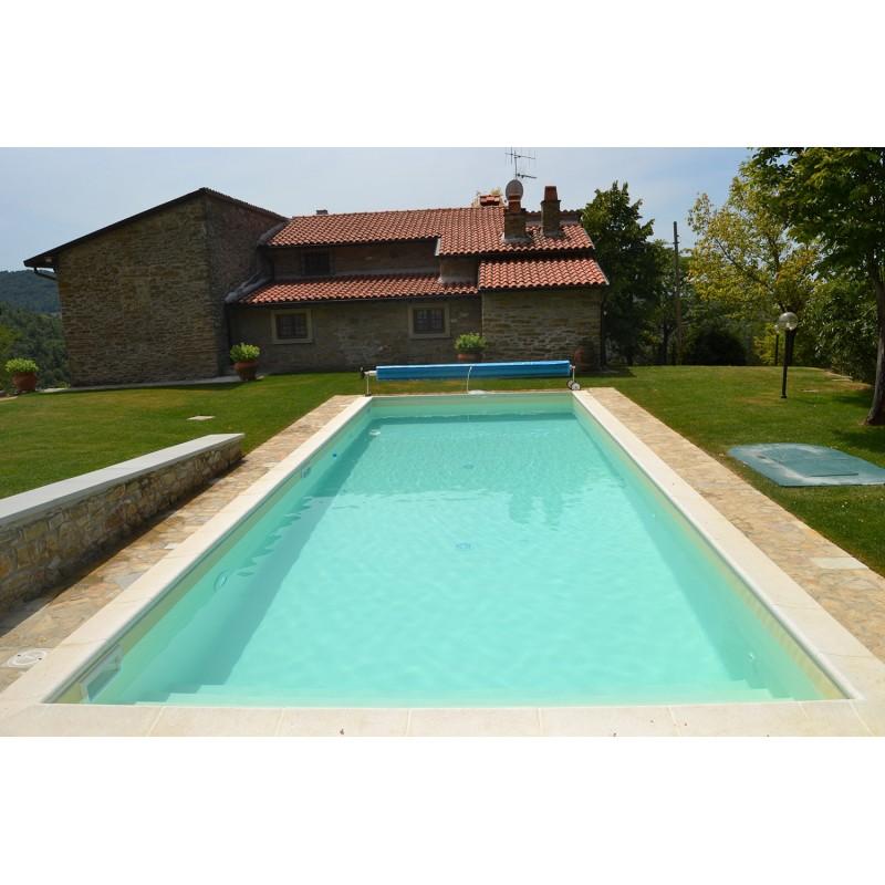 Bordo standard per piscina in pietra ricostruita 4x9 metri for Bordi per piscine prezzi