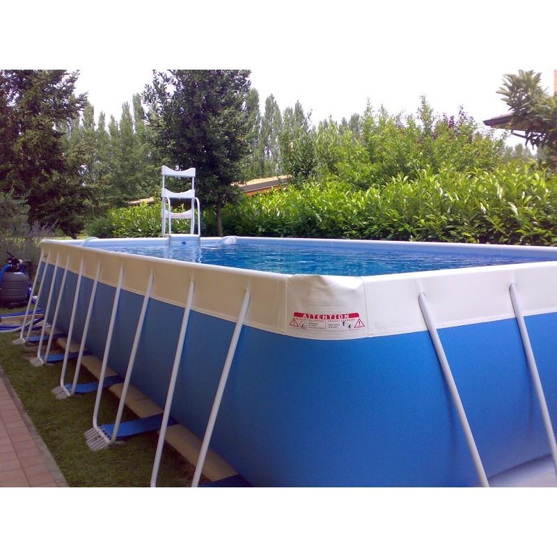 Piscina fuori terra laghetto classic 24 vannini aqua pool - Piscina a terra ...