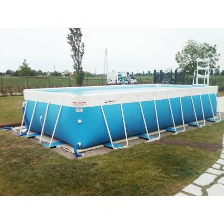 Piscina fuori terra laghetto classic 2 vannini aqua pool - Piscine laghetto fuori terra ...