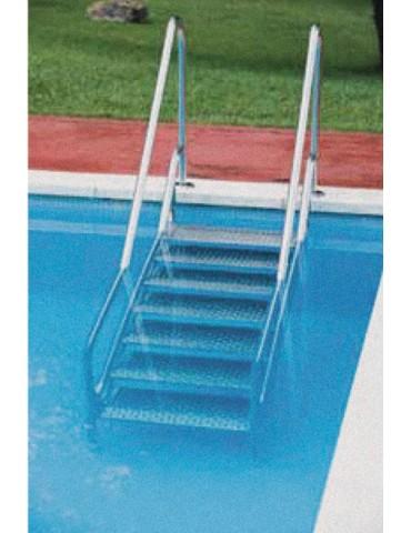 Scala per accesso piscina per disabili in Acciaio Inox