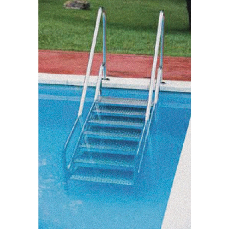 Scala per accesso piscine interrate per disabili in - Scale per piscine interrate ...