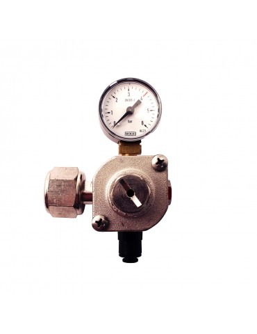 Riduttore di pressione per bombola ricaricabile