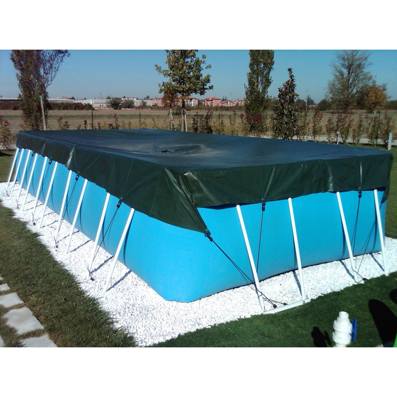 Copertura invernale per piscina fuoriterra laghetto - Piscine laghetto usate ...
