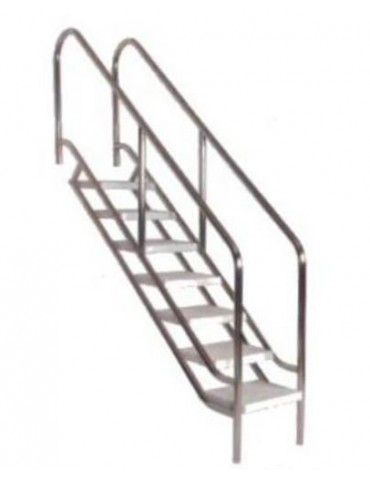 Pool entrance ladder for disabled