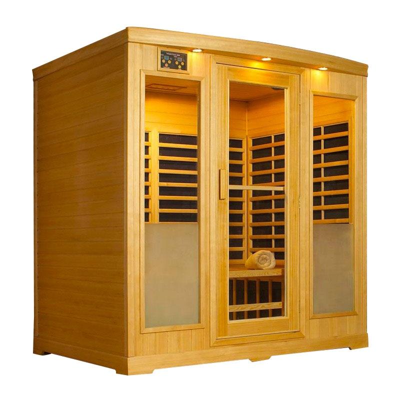 Sauna infrarossi da casa helosun iii - Sauna per casa prezzi ...