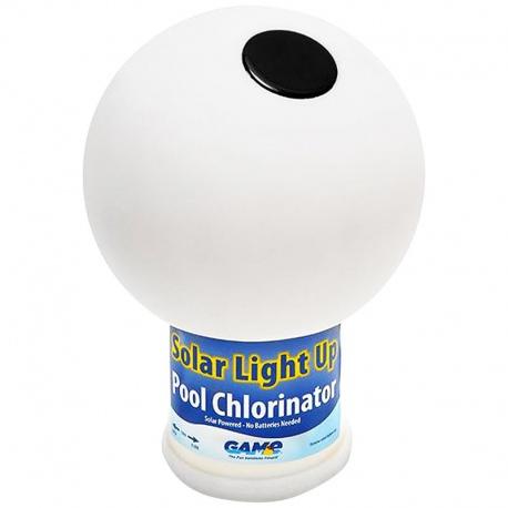 Luminous and floating chlorine device