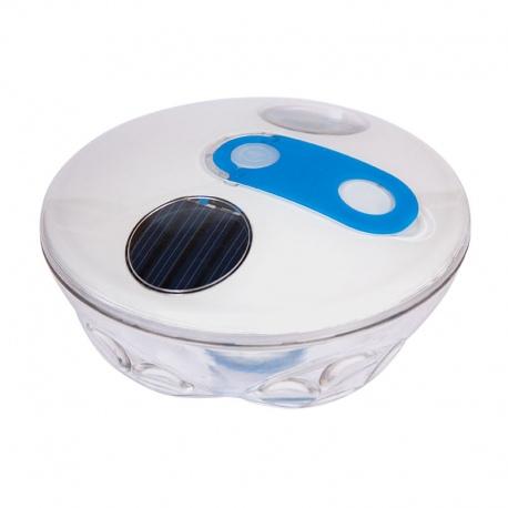 Luminous floating solar disc