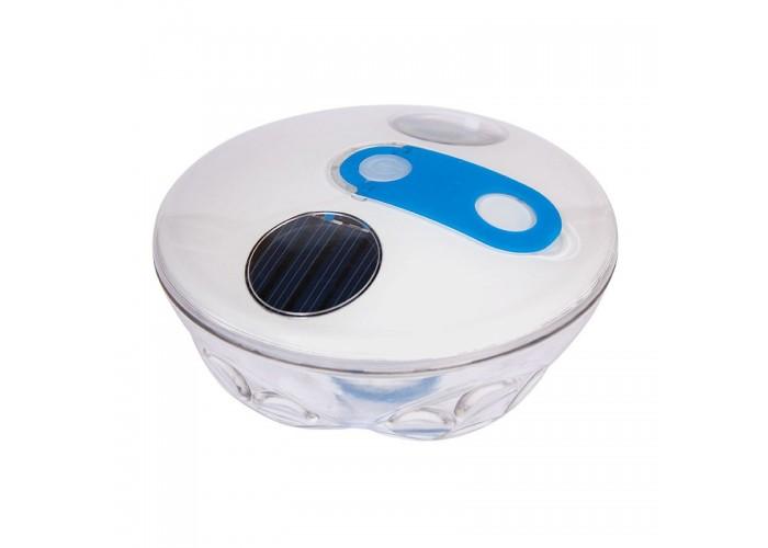 Disco galleggiante 10 LED con 7 combinazioni di colori e