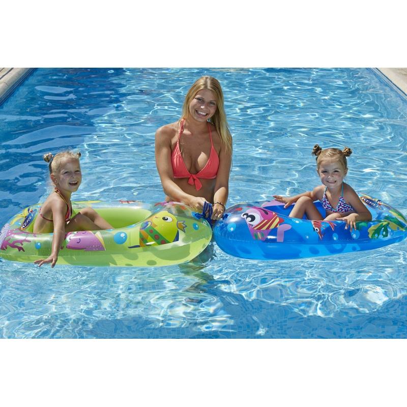 Canotto gonfiabile sealife per piscina vannini aqua pool - Materassini per piscina ...