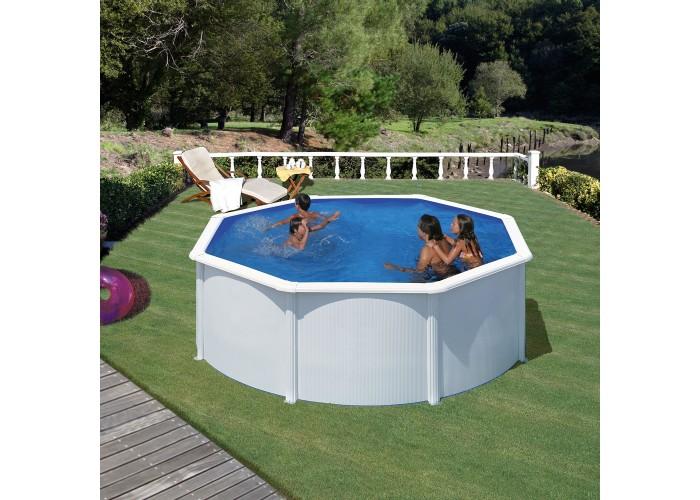 Piscina fuori terra Gre modello Fidji 3,5 x 1,20