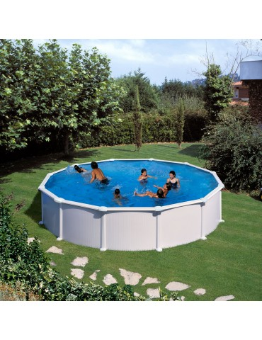 Above ground pool Gre model Mauritius 5 x 1.32