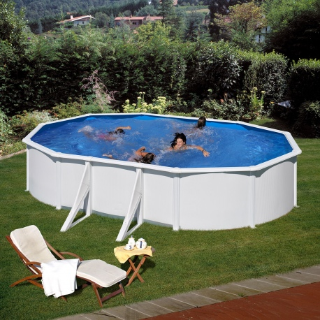 Above ground pool gre model fidji 5 x 3 x vannini for Aqua pool piscinas