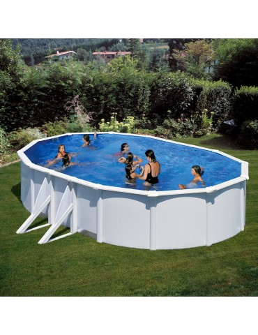 Above ground pool Gre model Atlantis 6.10 x 3.75 X 1.32