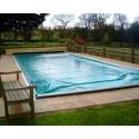 Copertura automatica di sicurezza PoolLock per piscina