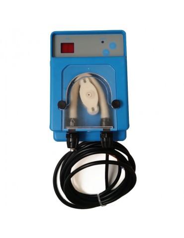 Peristaltic dose pump for pH