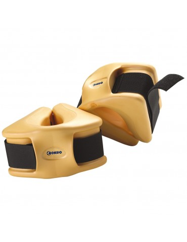 Pair of hydro ankle weights in Eva Foam