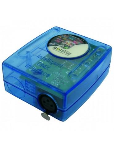 Controller interfaccia USB-DMX per luci RGB piscina