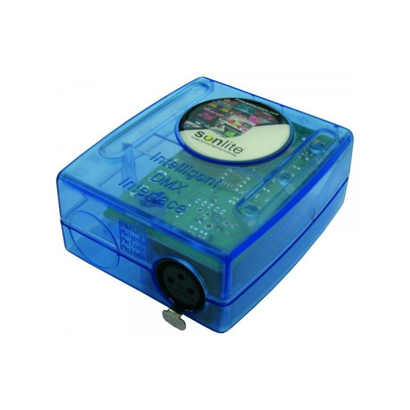 Controller interfaccia usb dmx per luci rgb piscina - Luci per piscina ...