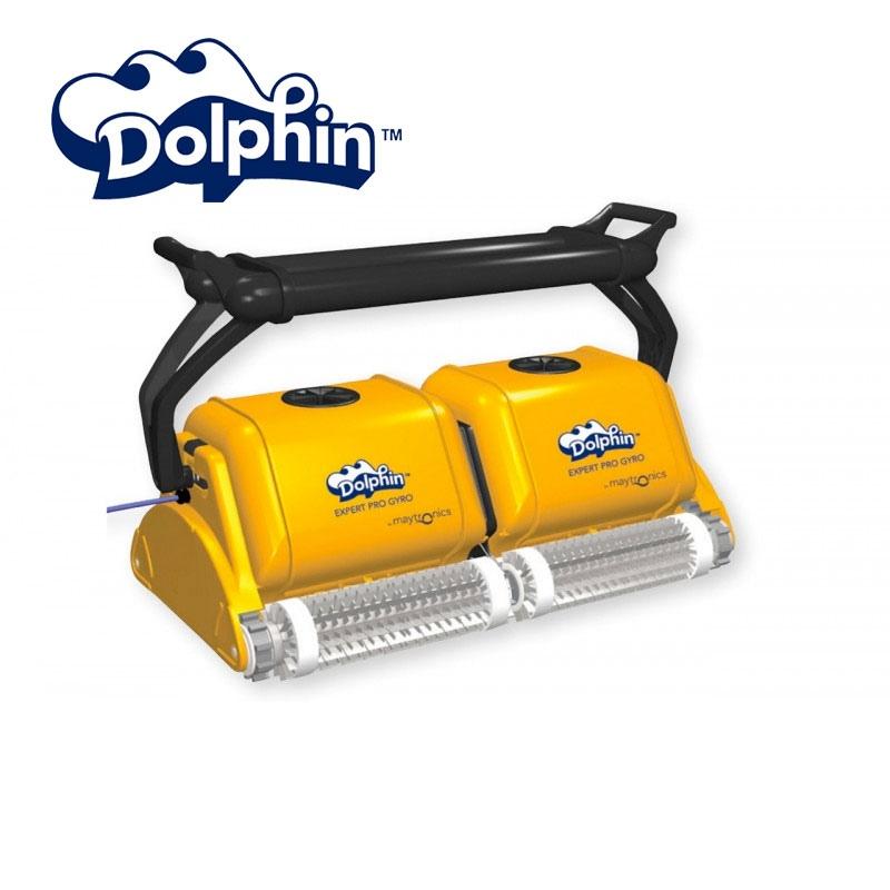 Robot dolphin 2x2 pro gyro for public pools vannini aqua for Robot dolphin