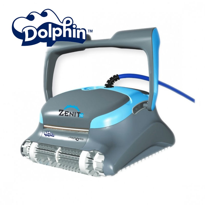robotic pool cleaner zenit 30 dolphin vannini aqua pool. Black Bedroom Furniture Sets. Home Design Ideas
