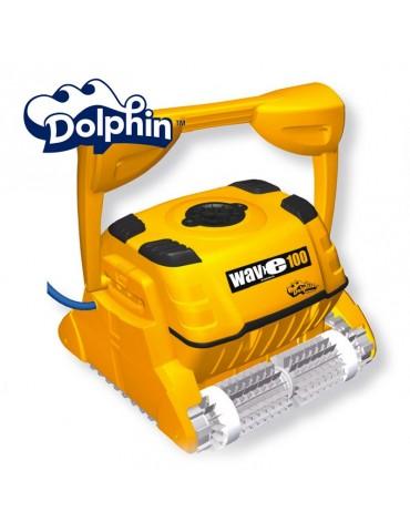 Robot piscina Dolphin WAVE 100 Maytronics con spazzole PVC