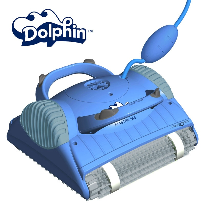 Dolphin master m3 maytronics robot pulitore per piscina - Robot per piscina dolphin ...