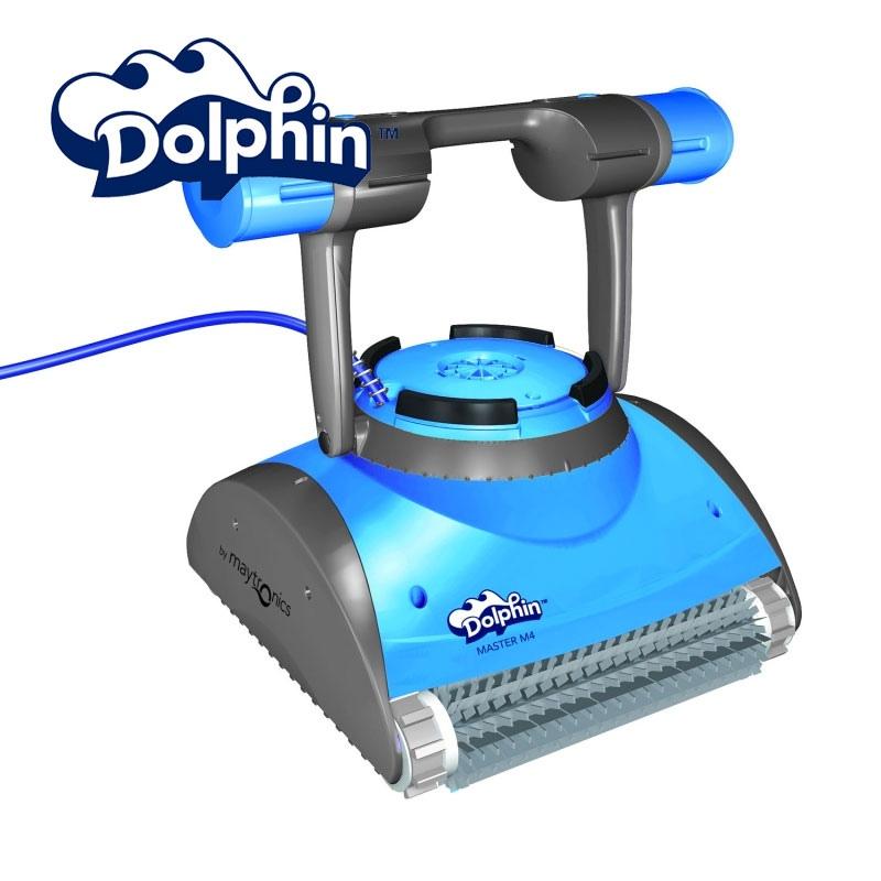 Robotic Pool Cleaner Dolphin Master M4 Vannini Aqua Amp Pool