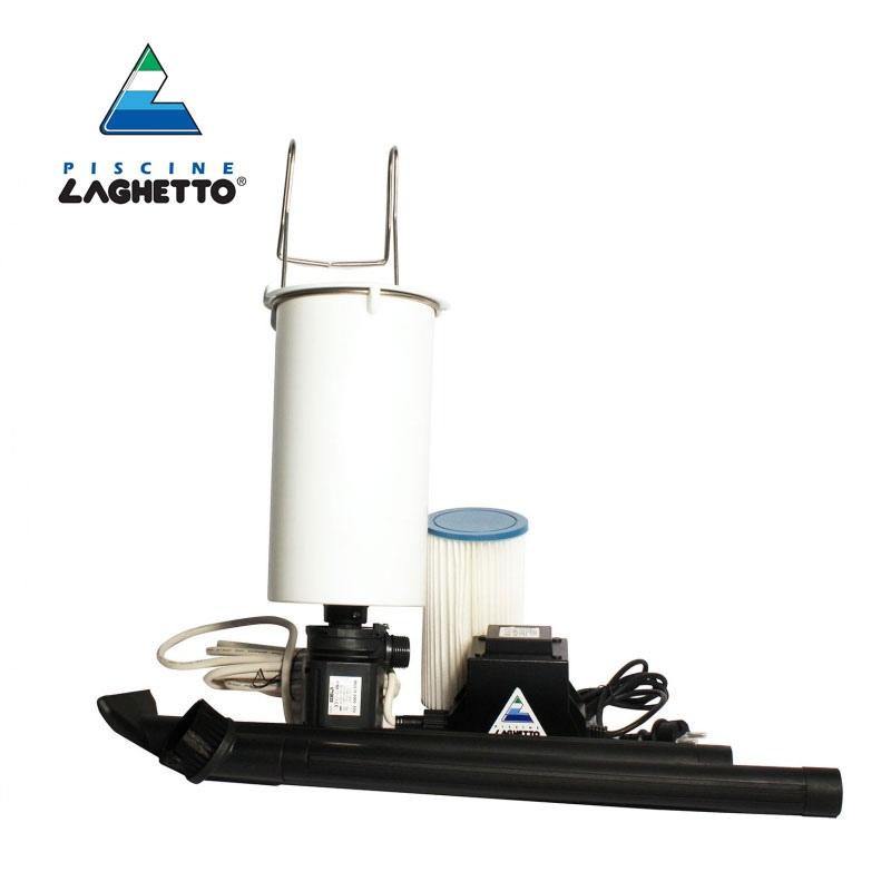 Filtro depuratore per piscina a zaino dezai laghetto for Filtro per laghetto esterno