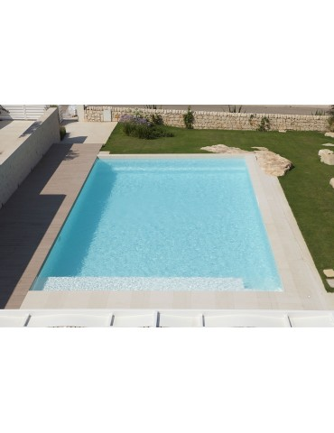 Steel-ground pool IBlue - Amaranta