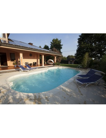 Pool in steel panels IBlue - Camelia