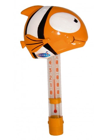 Big Fish - Fish-shaped floating pool thermometer