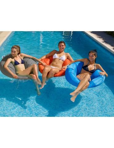 Floating sack armchair
