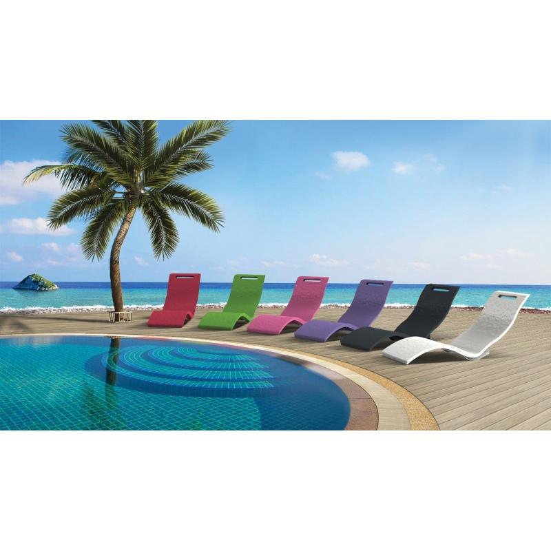 Lettino prendisole serendipity chaise per piscina - Materassini per piscina ...