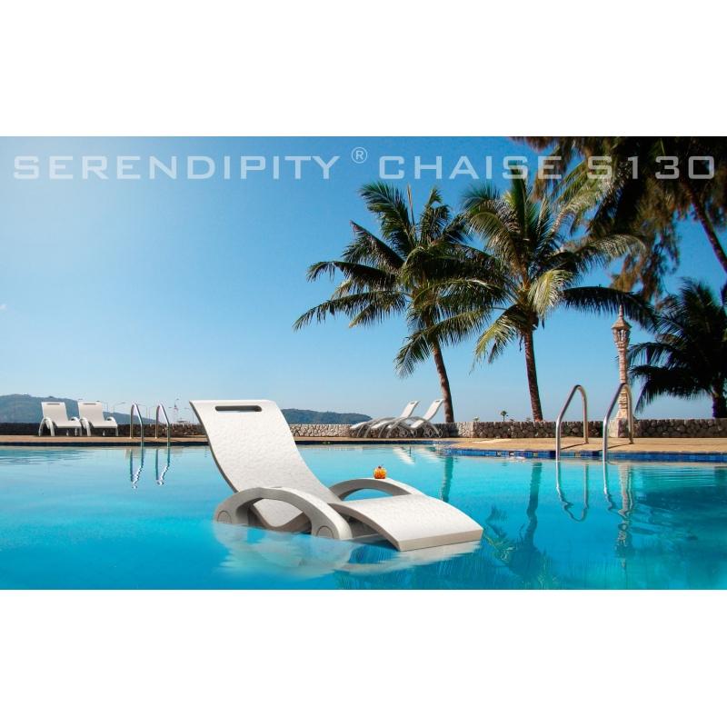 Lettino prendisole galleggiante serendipity chaise per - Materassini per piscina ...
