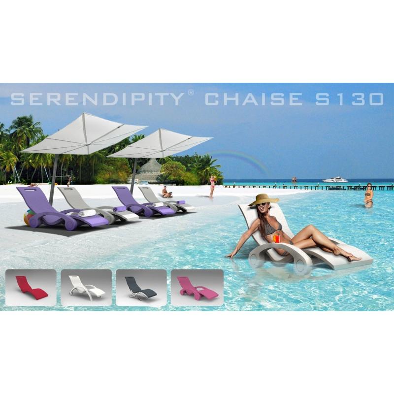 Lettino prendisole galleggiante serendipity chaise per for Materassini piscina