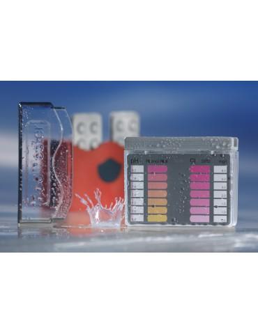 CHl/pH analysis kit for pool water