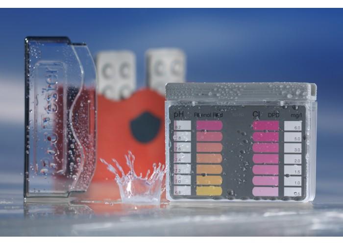 Kit analisi Cloro/pH per acqua di piscina