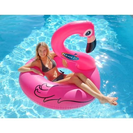 Materassino gonfiabile a forma di fenicottero rosa per - Materassini per piscina ...