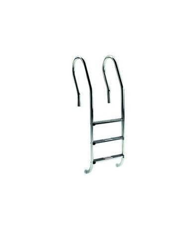"Pool ladder with handrail model ""Misto"" - step model ""Standard"""