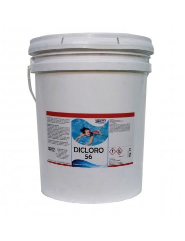 Dichlorine in grains 56% - Barrel of 25 kg.