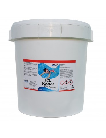 Slow dissolving chlorine tri 90/200- 25 kg.