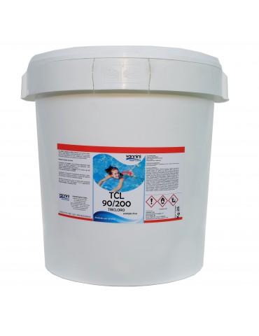 Tricloro 90% pastiglie 200gr TCL 90/200 per piscina - 25 kg.