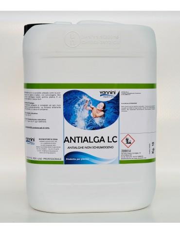 Alghicida LC no schiuma per piscina 10 lt.